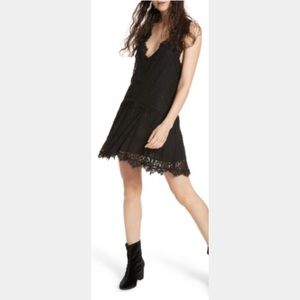 Free People Heart in Two Lace Minidress, Small